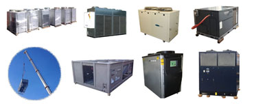 KIG Inc - New and Used Air Cooled Chillers from Carrier